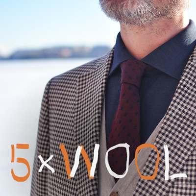 5 x Wool
