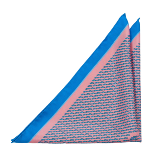 CINEMACCHINA Pink pocket square