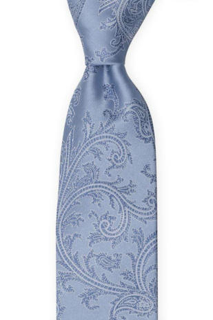 AISLEWALKER Dusty blue tie