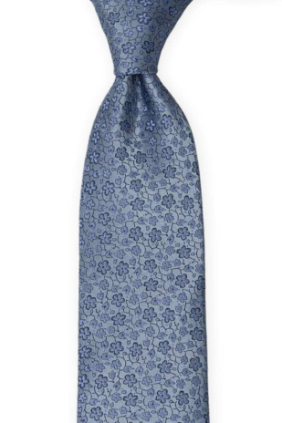 AUGURI Dusty blue tie