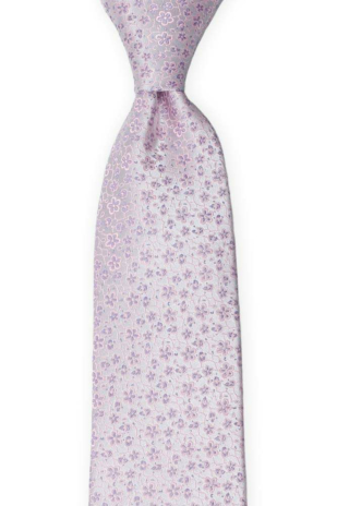 AUGURI Pale purple tie