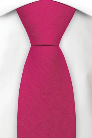 BASKETVEIL Hot pink tie