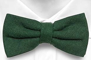 BITTERSWEET Dark green bow tie