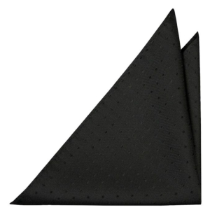 BRUDGUM BLACK pocket square