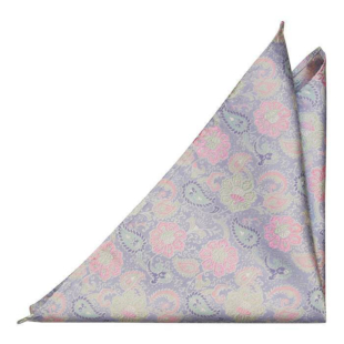 BOTANIFTY Purple pocket square