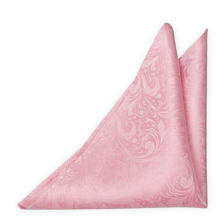 BRIDALLY Pink pocket square