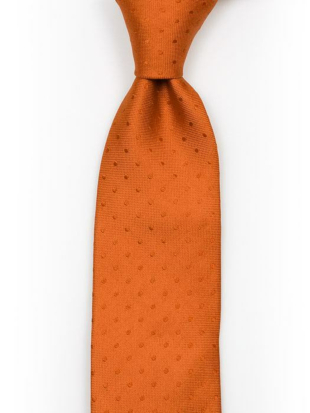 BRUDGUM Orange tie