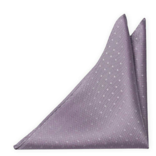 BRUDGUM Vintage purple pocket square
