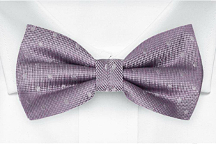 BRUDGUM Vintage purple bow tie
