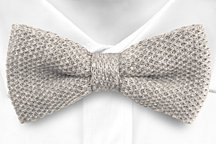 CHILLA Grey bow tie