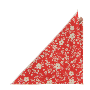 CUPIDITY Red pocket square