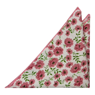 DAISYDOLL Pink pocket square