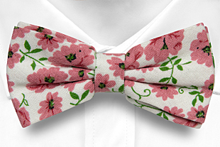 DAISYDOLL Pink bow tie