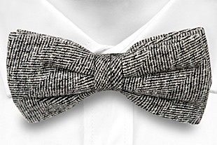 DIMMA Grey bow tie