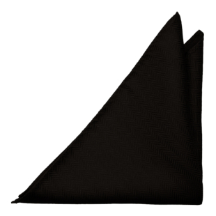 DRUMMEL BLACK pocket square