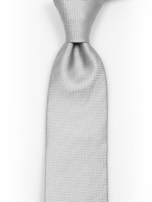 DRUMMEL Light grey tie