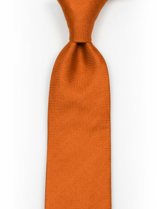 DRUMMEL Orange tie