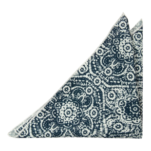 ENIGMADORN White pocket square