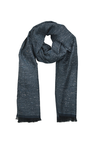 FANTASIA Sea blue scarf