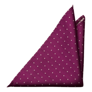 FESTLIG FUCHSIA pocket square