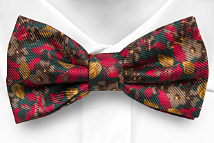 FLOREALE GREEN bow tie