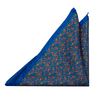 FLORIDO Blue pocket square