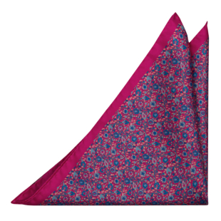 FLORIDO Cerise pocket square