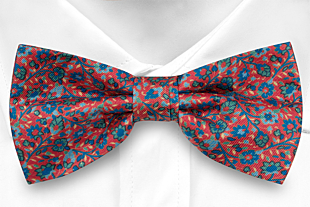 FLORIDO Red bow tie