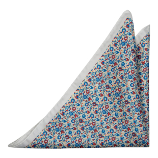 FLORIDO White pocket square