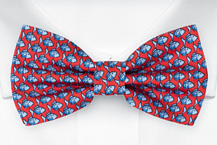 FORZAPESCE Red bow tie