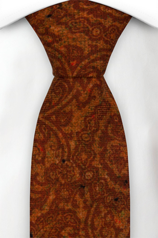 FRONDOSO Rusty red tie