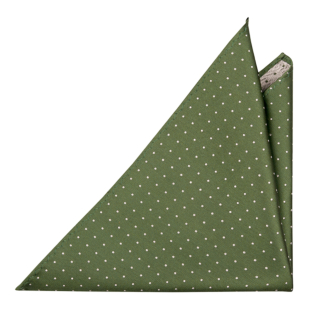 GRONGOLING GREEN pocket square