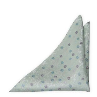 GROOMBLOOM Dusty mint pocket square