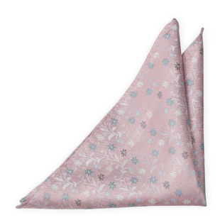 GROOMBLOOM Dusty pink pocket square