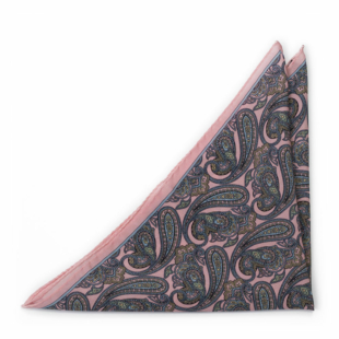 GUARNITO Dusty pink pocket square