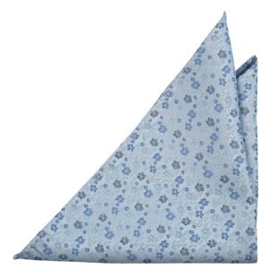 HYLLNING BLUE pocket square