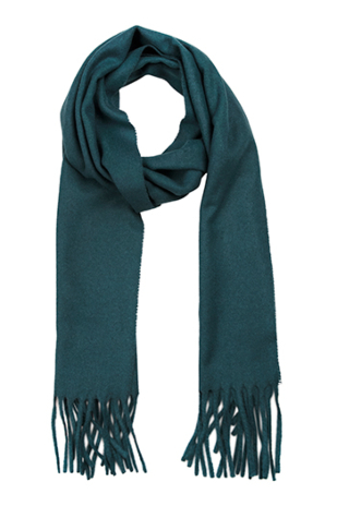 INVERNALE Petrol blue scarf