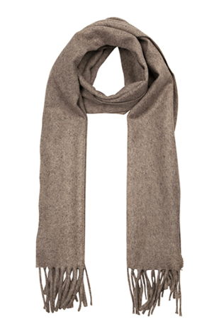 INVERNALE Sand brown scarf