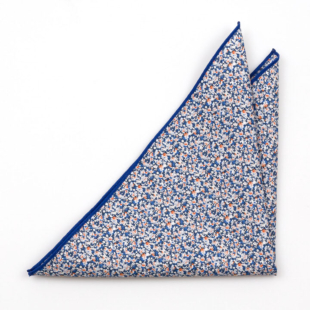 ITSYBITSY Blue pocket square