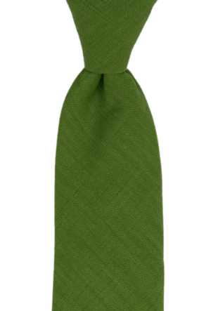 BASKETVEIL Green tie