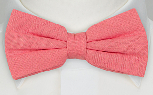 BASKETVEIL Pink bow tie