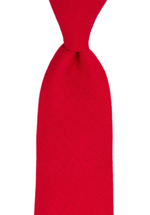 BASKETVEIL Red tie