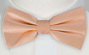 FIRA APRICOT pre-tied bow tie