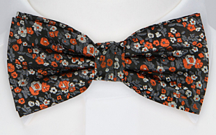 FORLAT ORANGE bow tie