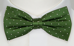 GRONGOLING GREEN bow tie