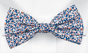 ITSYBITSY Blue bow tie