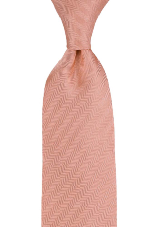 JAGGED Dusty pink tie