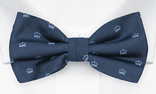 MAGICROWN Blue bow tie