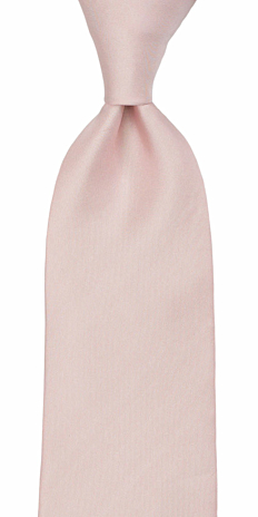 SOLID Dusty pink tie