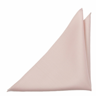 SOLID Dusty pink pocket square